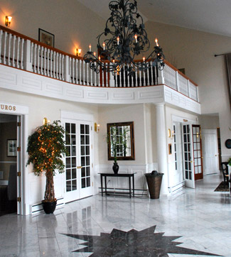 Foyer of the Inn at Black Star Farms