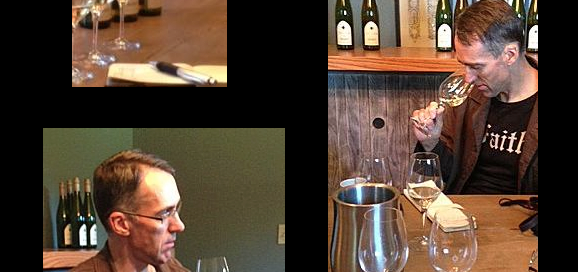 Tasting with Stuart Pigott
