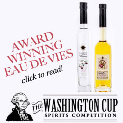 Link to Washington Cup Spirit Competition article featuring our cherry and apple brandies.