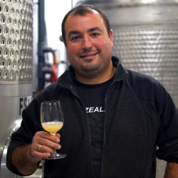 Photo of Vladimir Banov, the Production Winemaker at Black Star Farms Old Mission.