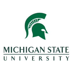 Logo and link to Michigan State University Agriculture Extension Program.