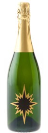 Bottle of Blanc de Blanc that links to our sparkling wines on our online store.