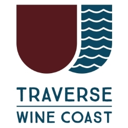 Traverse Wine Coast logo that links to more information about Traverse City area wineries.