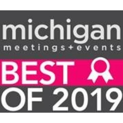 Best of winner for Michigan Meetings and Events 2019.