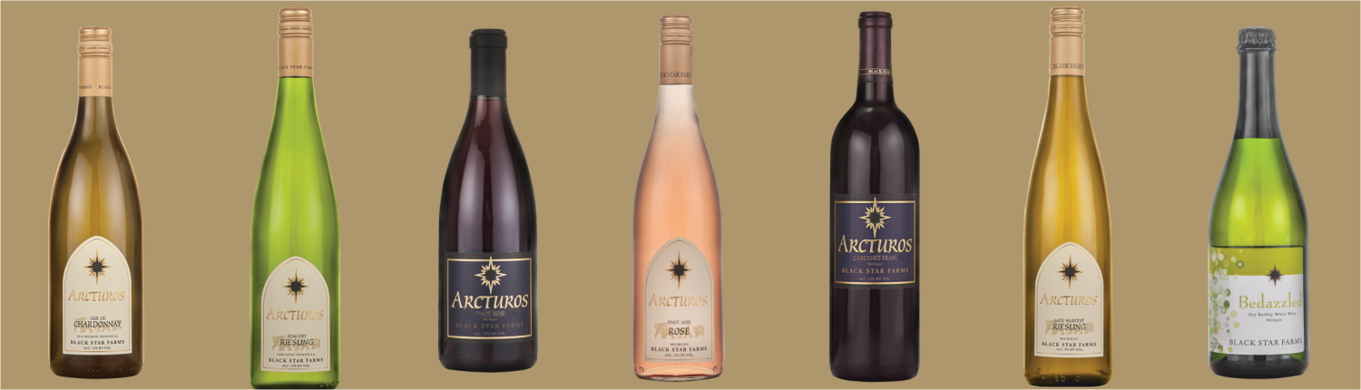A variety of red, white, rose and sparkling wines.
