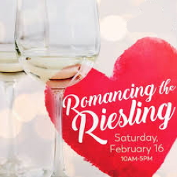 Promotional photo for the Romancing Riesling Old Mission Peninsula Wine Trail event.