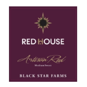 New label for our Red House Artisan Red.