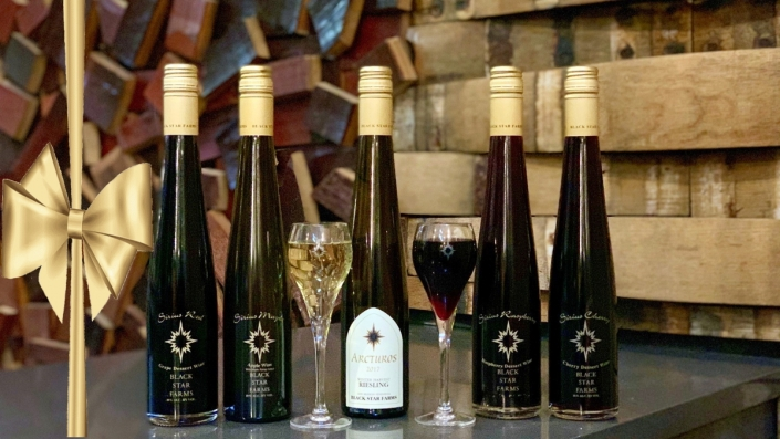 Selection of our dessert wines.