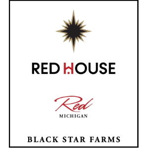 Label for our Red House Red