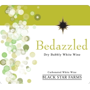 Label for the Bedazzled Sparkling Wine.